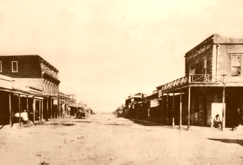 Tombstone, Allen Street, 1882-500